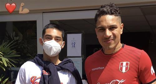Paolo Guerrero arribó al Perú y comenzó su recuperación en la Videna