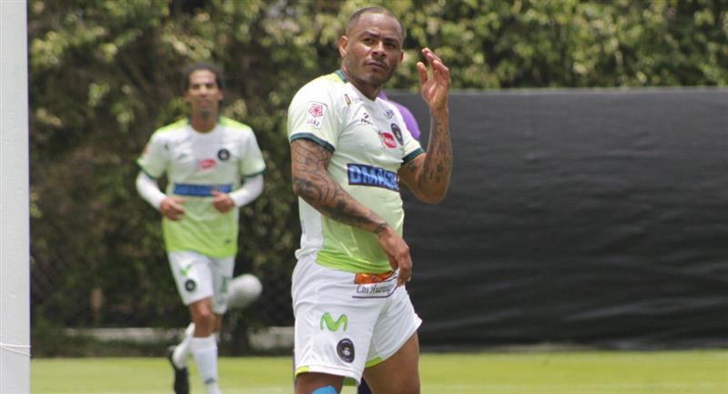 Wilmer Aguirre marcó doblete con Pirata FC. Foto: Prensa FPF