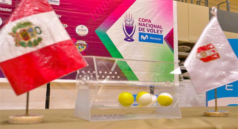 Se presentó la Copa Nacional de Vóley. Foto: IPD