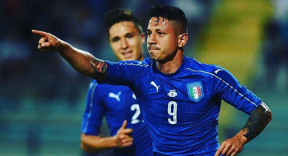 Lapadula jugó por la Selección de Italia. Foto: Instagram gianluca_lapadula_official