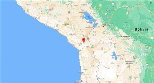 Temblor de 4.5 de magnitud sacude Tacna