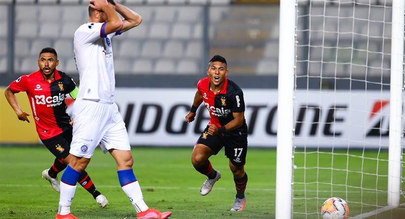 Melgar ganó con autogol de Paraiba Nino a los 80 minutos. Foto: Twitter @Sudamericana