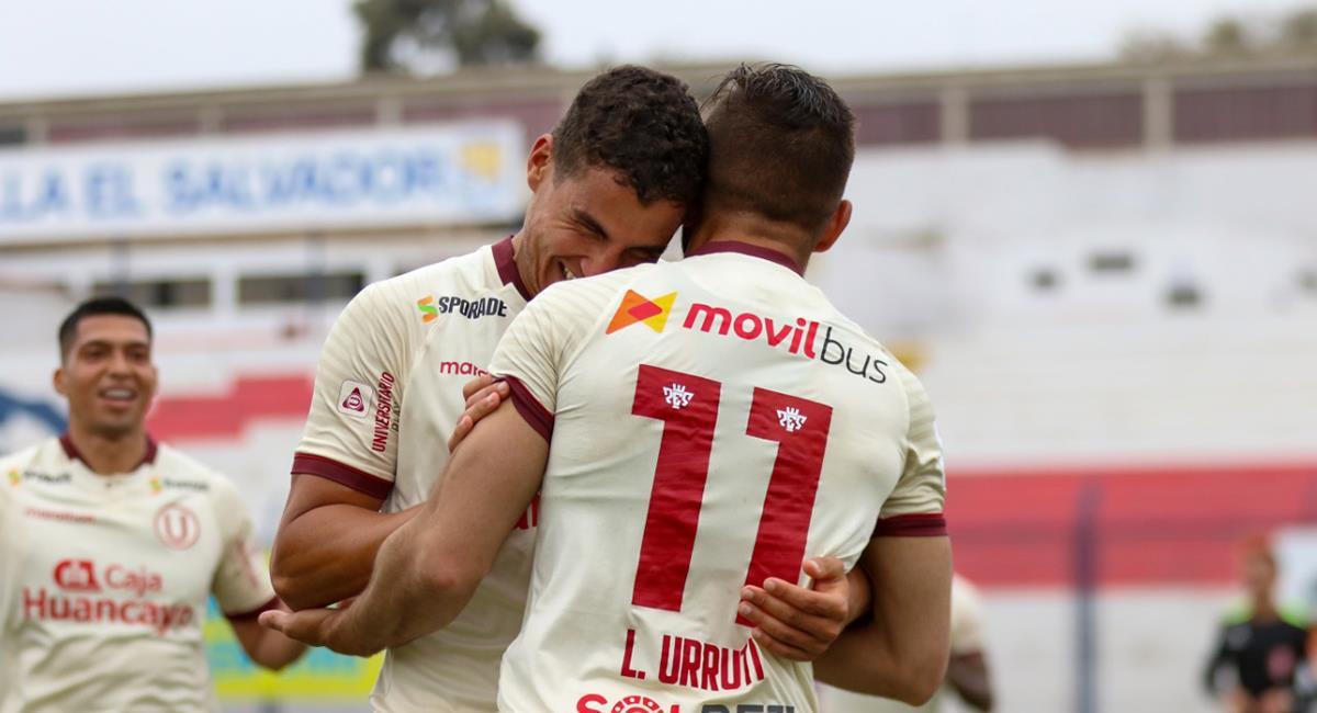 Luis Urruti marcó el único gol a los 57 minutos. Foto: Prensa FPF