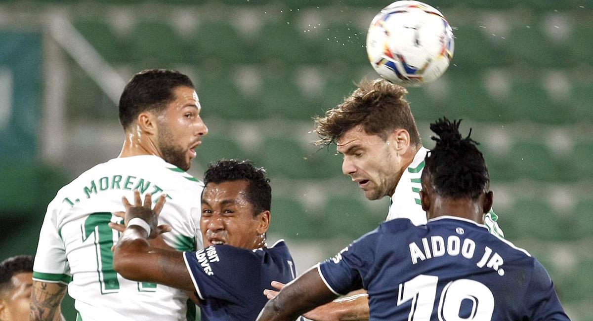 Renato Tapia disputó 65 minutos, tras salir lesionado. Foto: Twitter @RCCelta