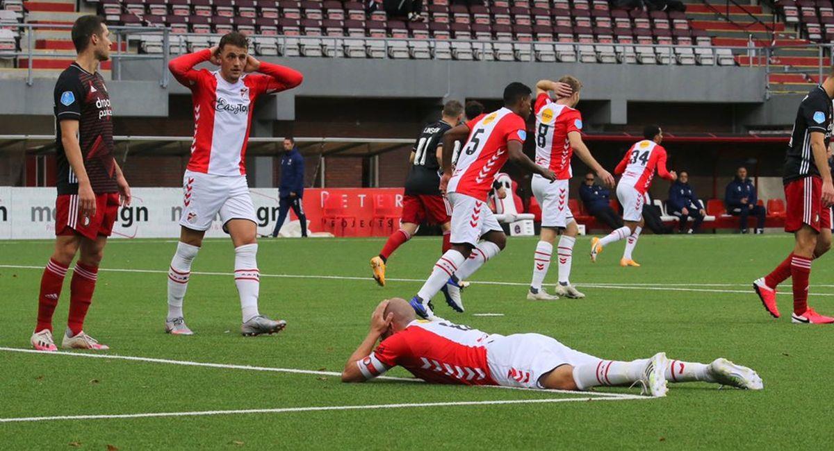 Emmen no encuentra el rumbo en la Eredivisie. Foto: Twitter Club Emmen