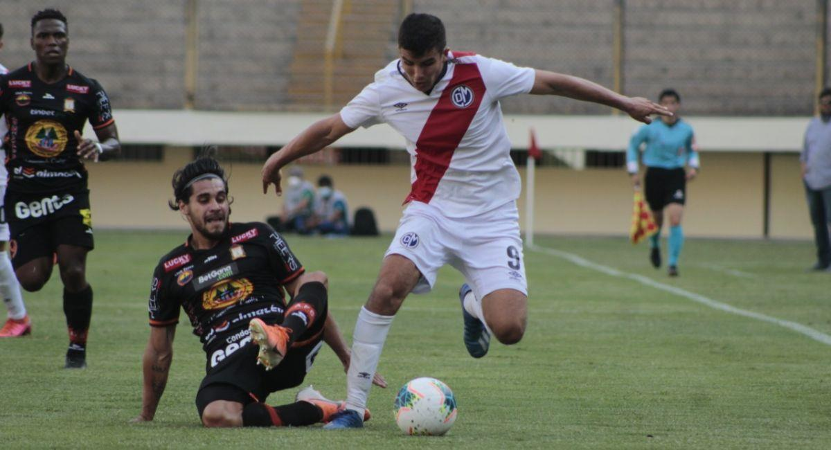 Municipal igualó con Ayacucho FC en el Monumental. Foto: Prensa de la FPF