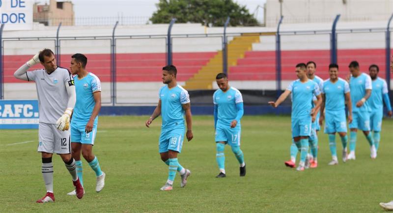 Deportivo Llacuabamba es el equipo más comprometido con la baja. Foto: Prensa de la FPF