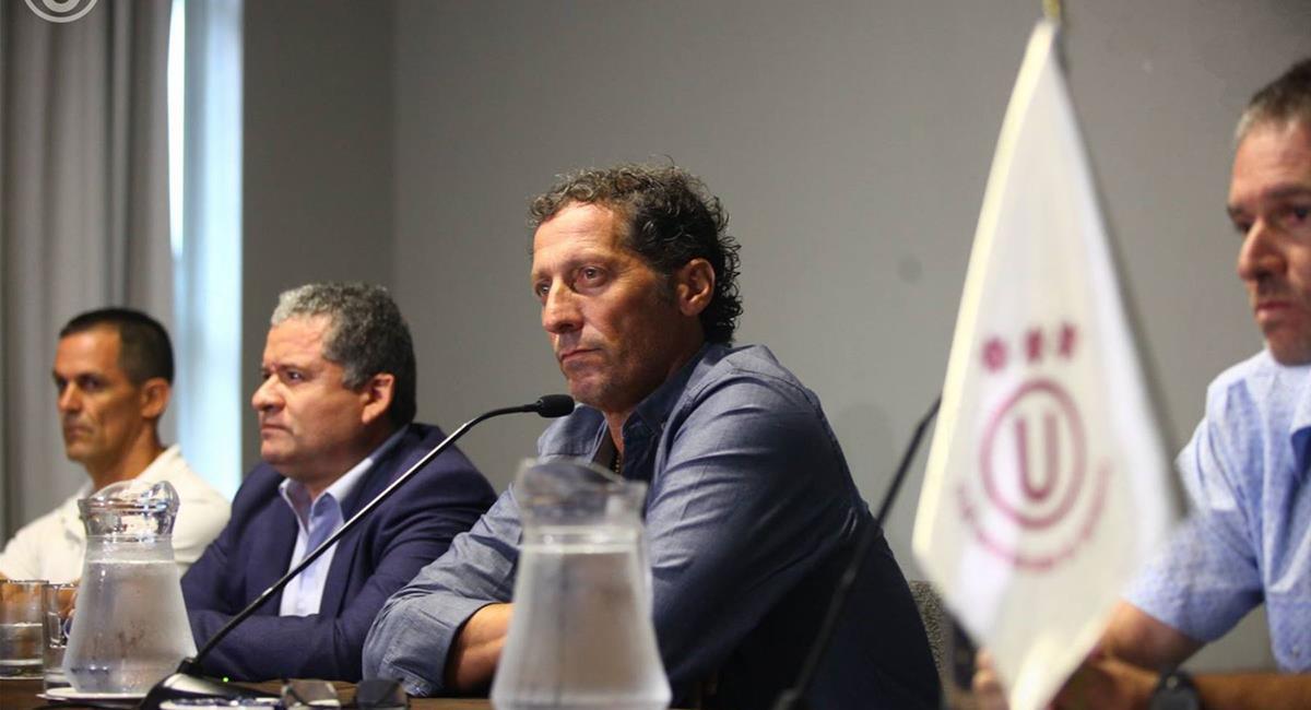 Pedro Troglio dirigió en Universitario entre 2017 y 2018. Foto: Andina