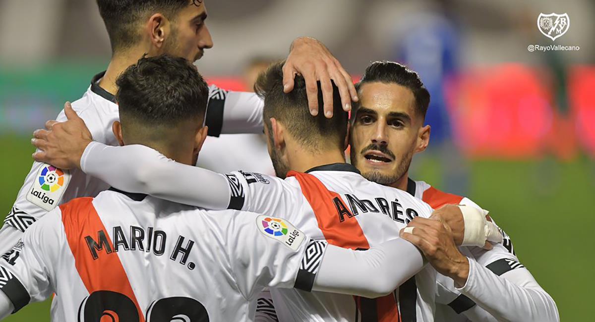 Rayo Vallecano regresó a la victoria. Foto: Twitter Rayo Vallecano