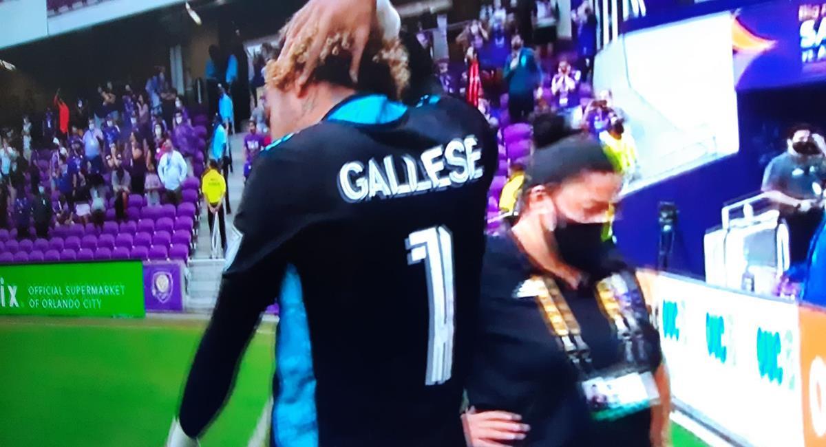 Pedro Gallese fue expulsado en la MLS. Foto: Captura MLS