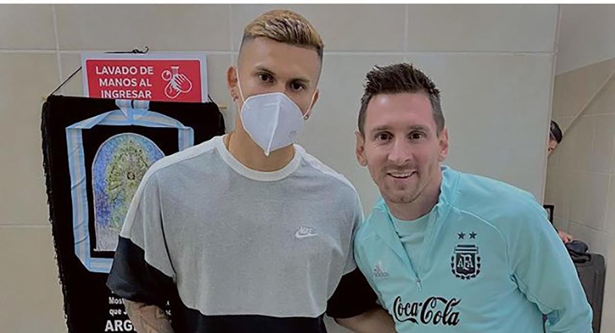 Foto del hijo de Lozano con Messi traería problemas a Perú. Foto: Instagram @tinlozanoc