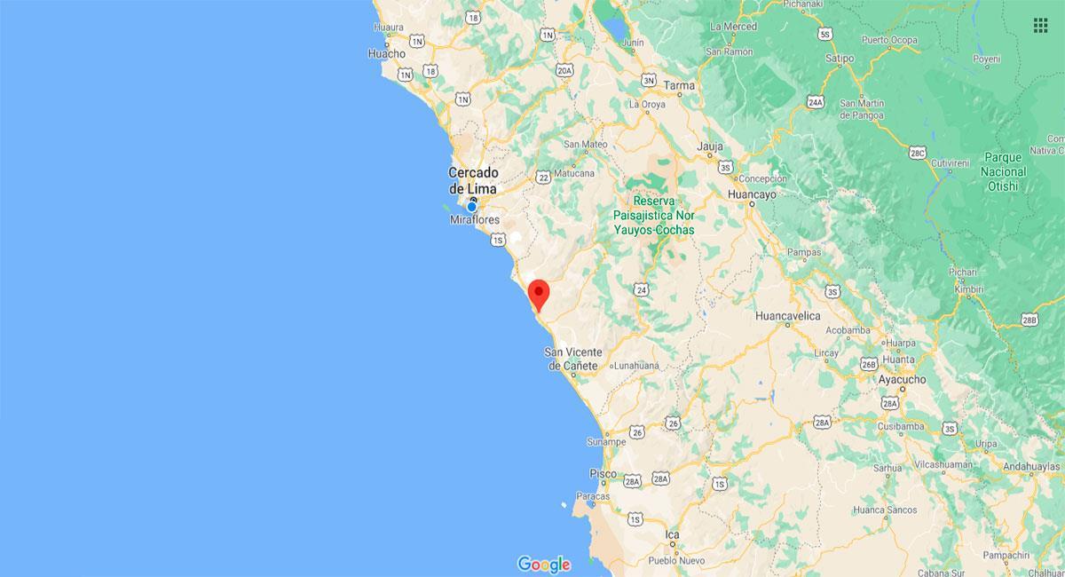 Temblor sacudió Lima este sábado por la madrugada. Foto: Google Maps