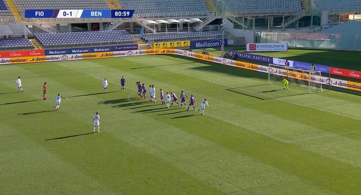 Gianluca Lapadula estuvo cerca de anotar el 2-0 a los 81 minutos. Foto: Twitter @alonso_inca
