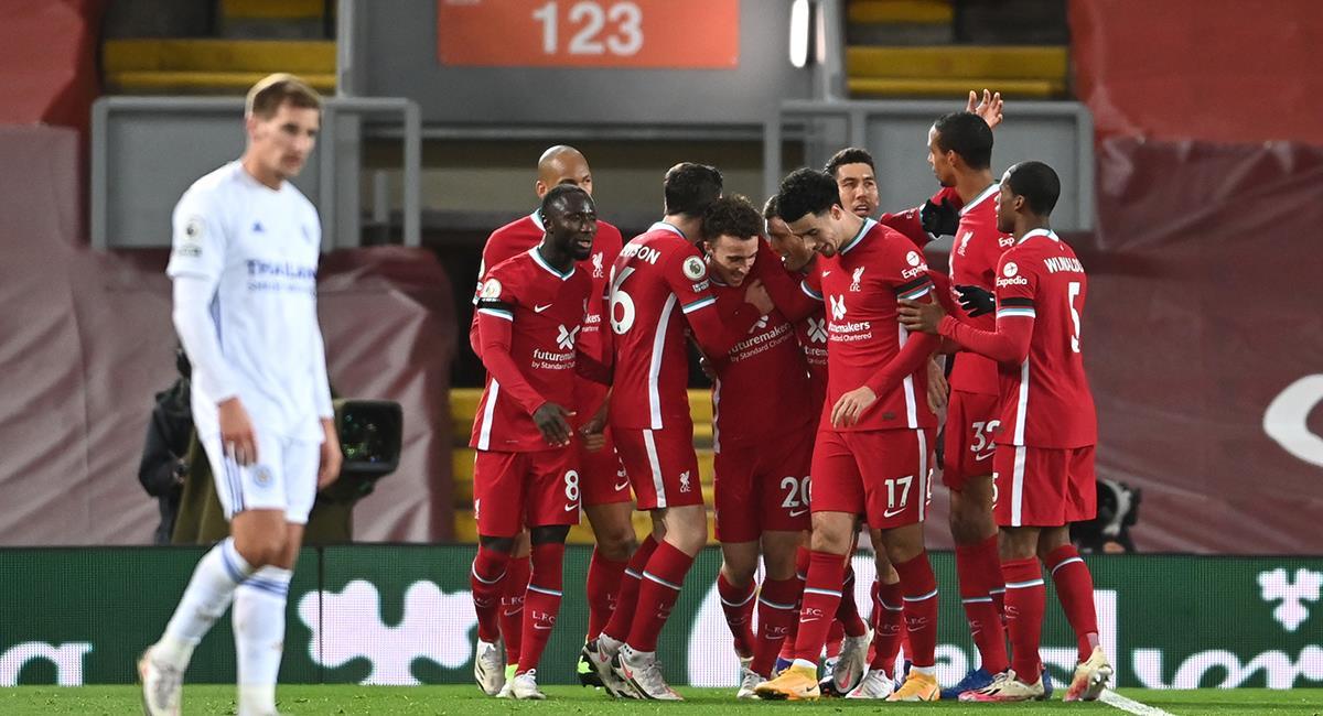 Liverpool volvió a la senda del triunfo en casa. Foto: Twitter @LFC