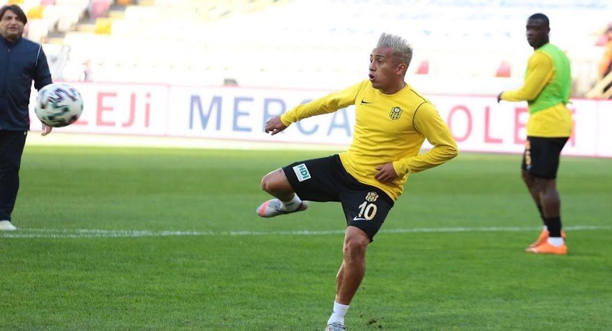 Christian Cueva no vive buen momento en el Yeni Malatyaspor. Foto: Club Yeni Malatyaspor