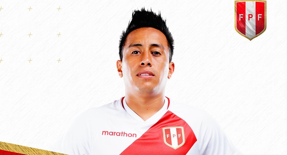 Christian Cueva celebró su cumpleaños ayer 23 de noviembre. Foto: Twitter Selección Peruana