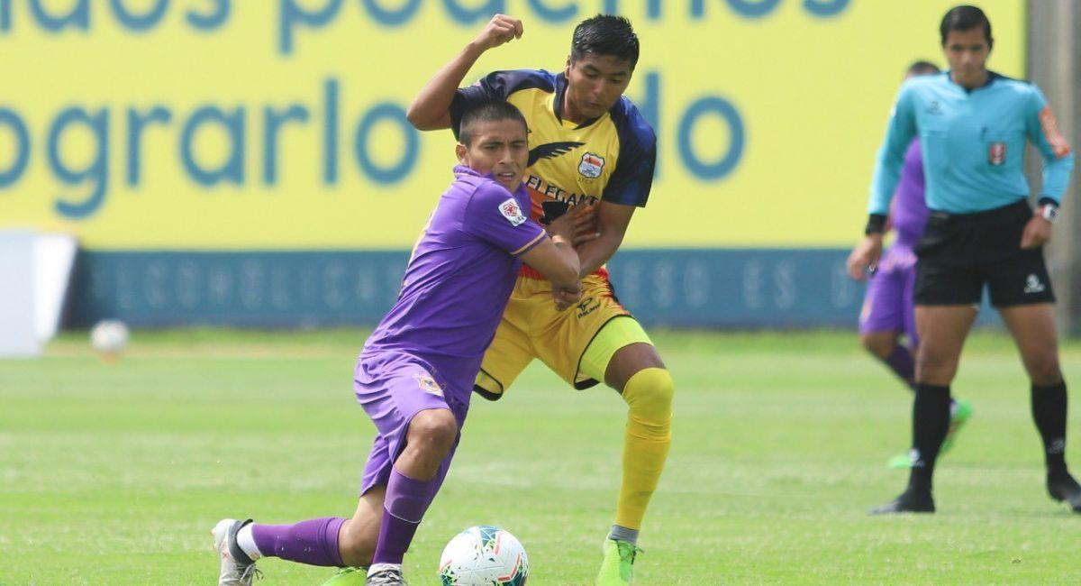 Sport Chavelines no pudo con Comerciantes Unidos. Foto: Prensa de la FPF