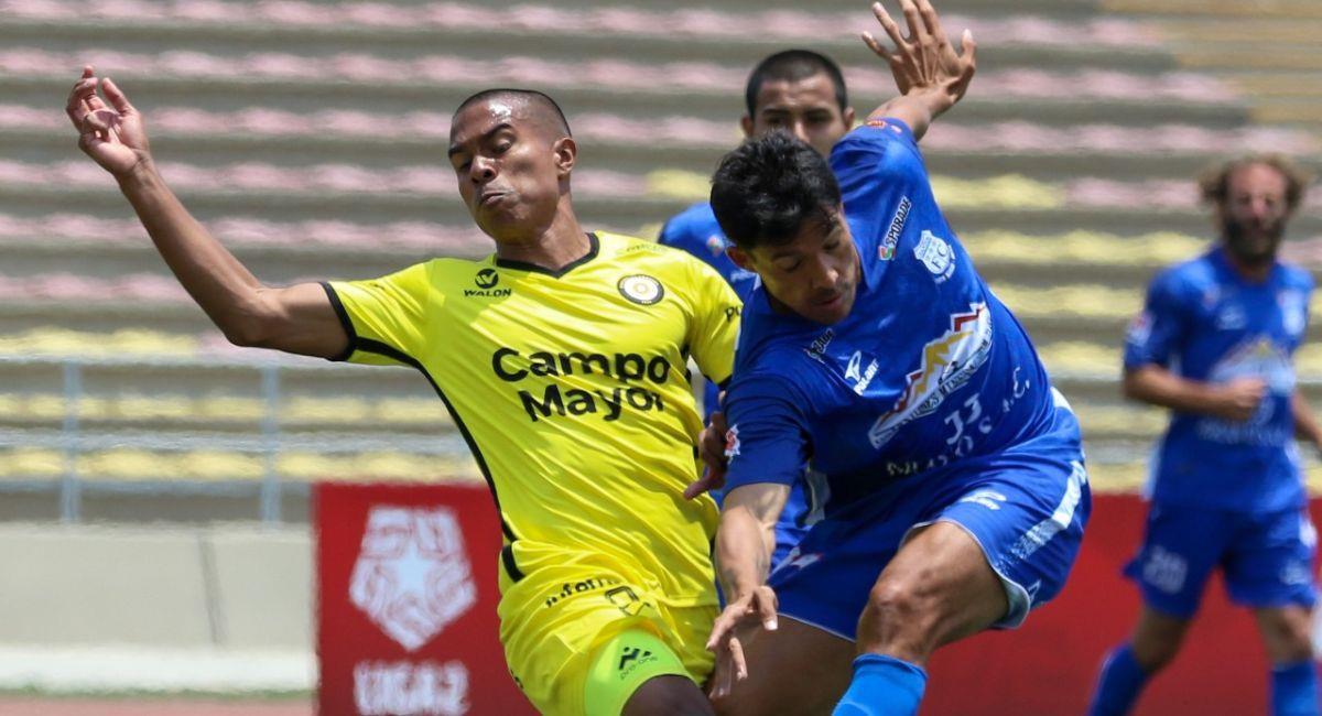 Coopsol y Santos no se sacaron diferencias. Foto: Prensa de la FPF