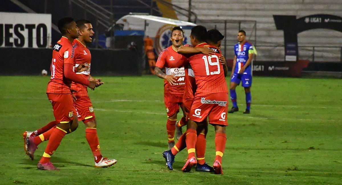 Sport Huancayo cierra la llave de octavos en Lima. Foto: Prensa FPF