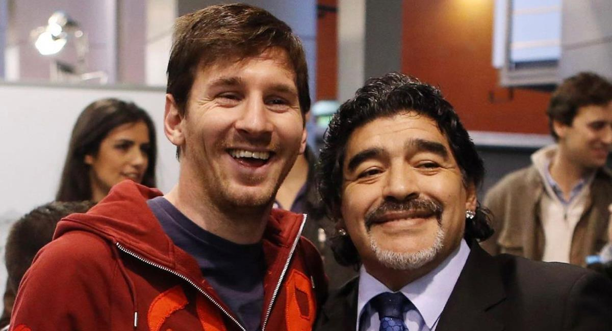 Messi dedicó palabras a Maradona. Foto: Instagram @leomessi
