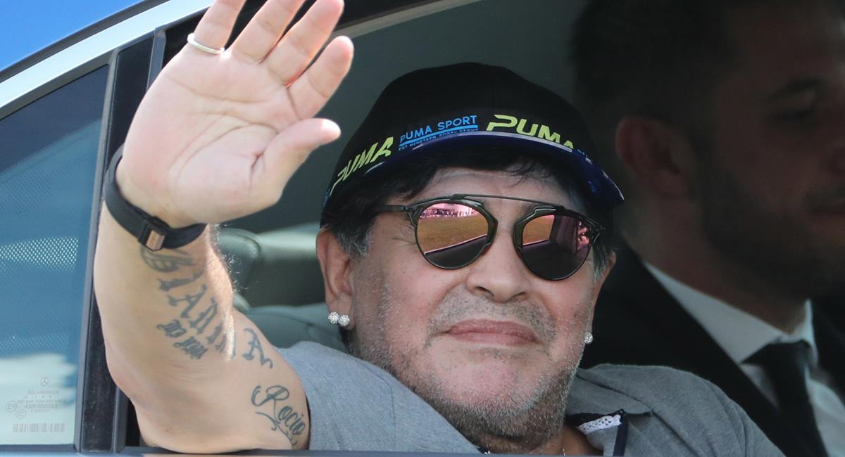 Maradona partió a los 60 años. Foto: EFE