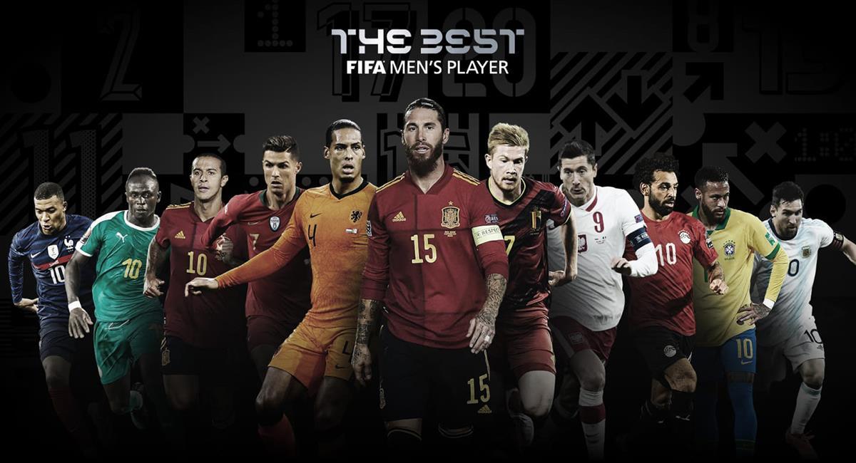 Premios The Best 2020 se entregarán el 11 de diciembre. Foto: Twitter @fifacom_es