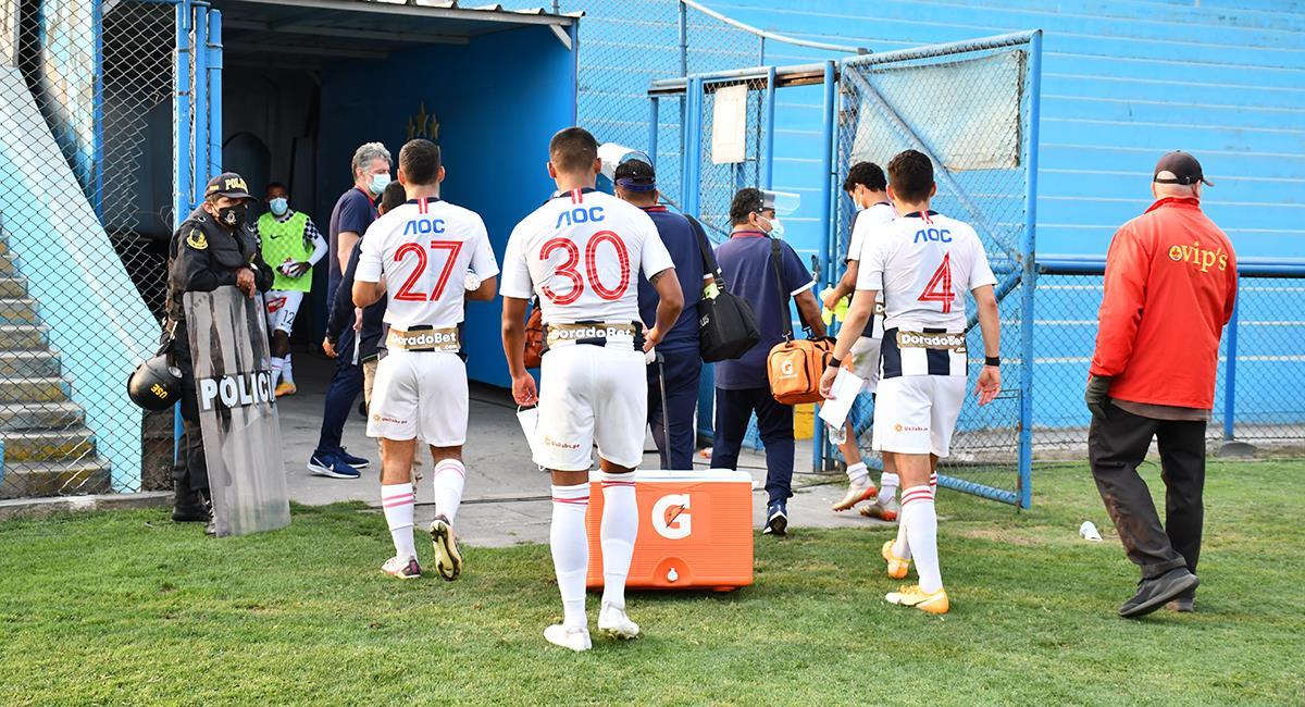 Alianza Lima obligado a sumar de a tres si quiere quedarse en Primera. Foto: Prensa FPF