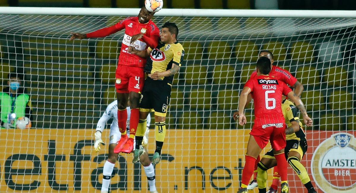 Sport Huancayo busca seguir avanzando en Copa Sudamericana. Foto: Twitter @coquimbounido