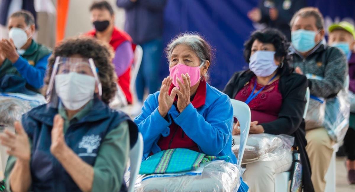 Cifra de infectados de COVID-19 para este 26 de noviembre. Foto: Andina