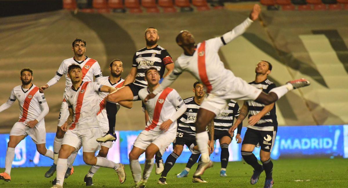 Cartagena sacó empate de la cancha del Rayo Vallecano. Foto: Twitter Club Cartagena