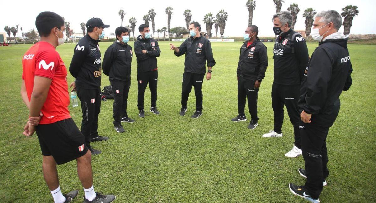 Carlos Silvestri es el entrenador de la Selección Peruana Sub 20. Foto: Twitter Selección Peruana