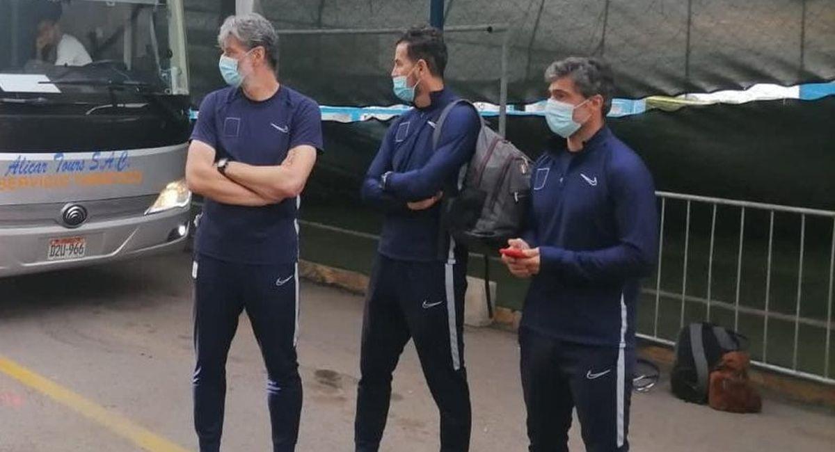 Daniel Ahmed luego del descenso de Alianza Lima. Foto: Facebook TVX Noticias