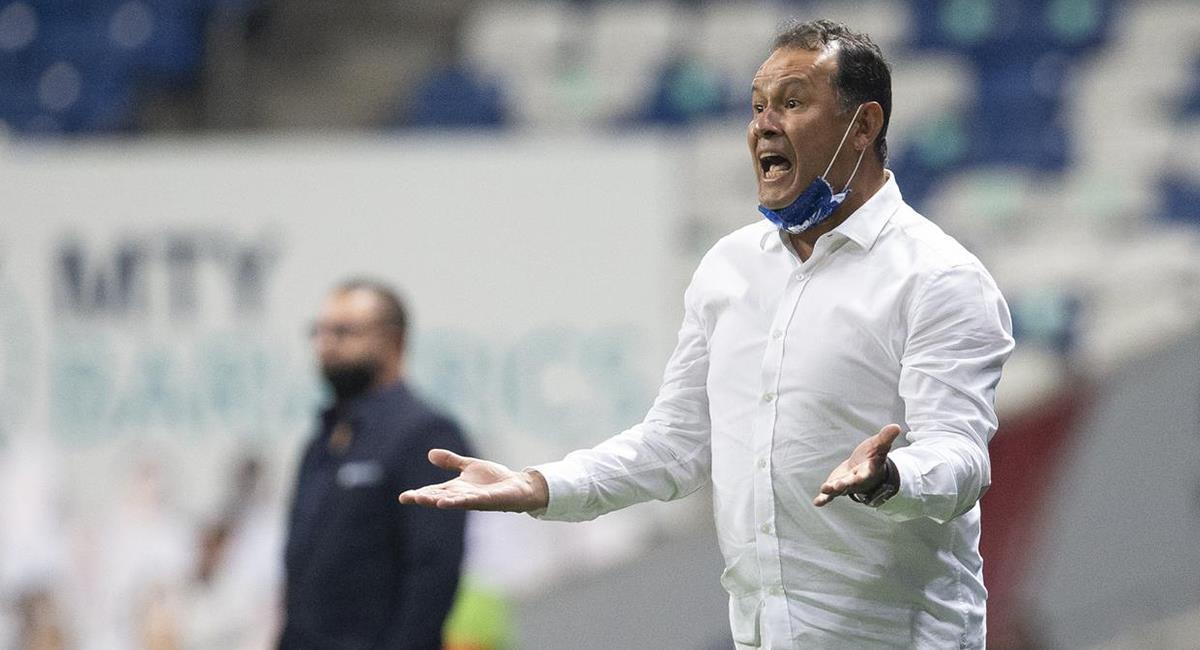 Juan Reynoso habló de la eliminación de Puebla de la Liga MX. Foto: Twitter Difusión