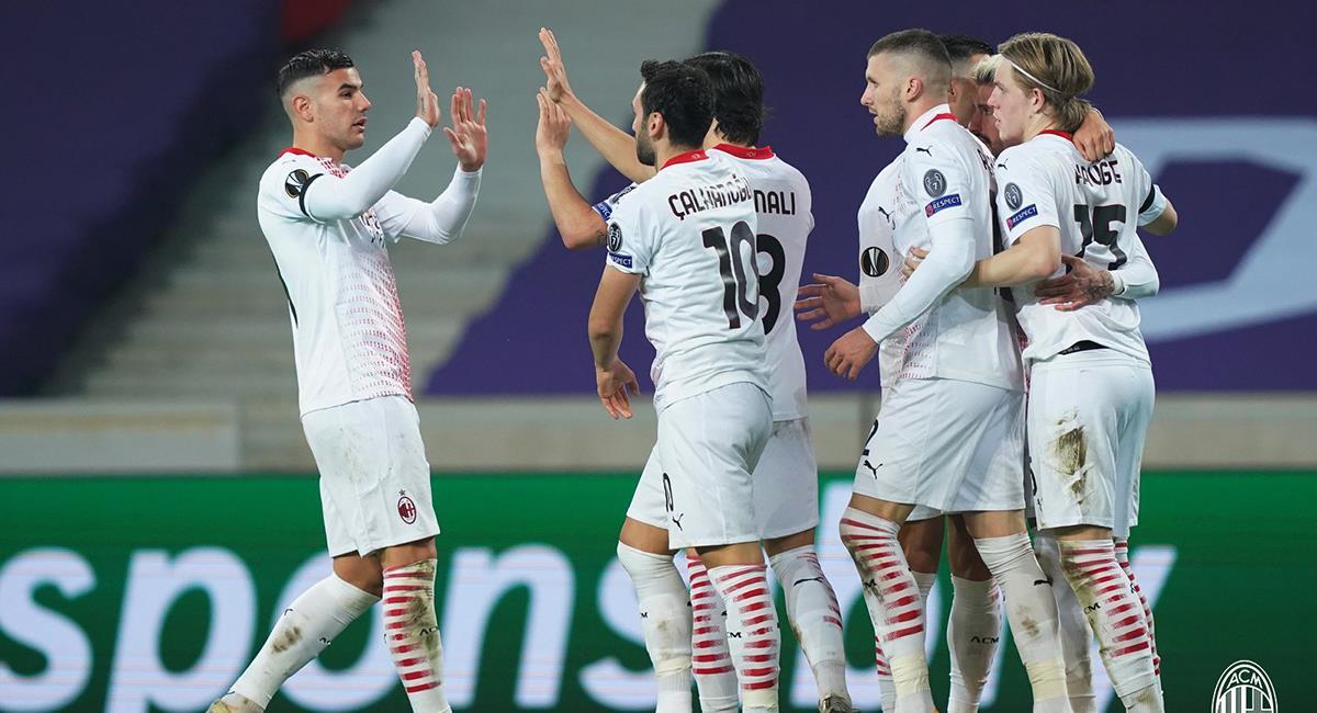 Milan quiere seguir peleando en la Serie A. Foto: Twitter AC Milan