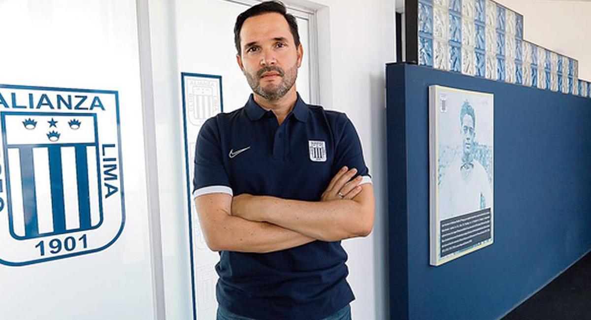 Víctor Hugo Marulanda no será más director deportivo de Alianza Lima. Foto: Twitter Difusión