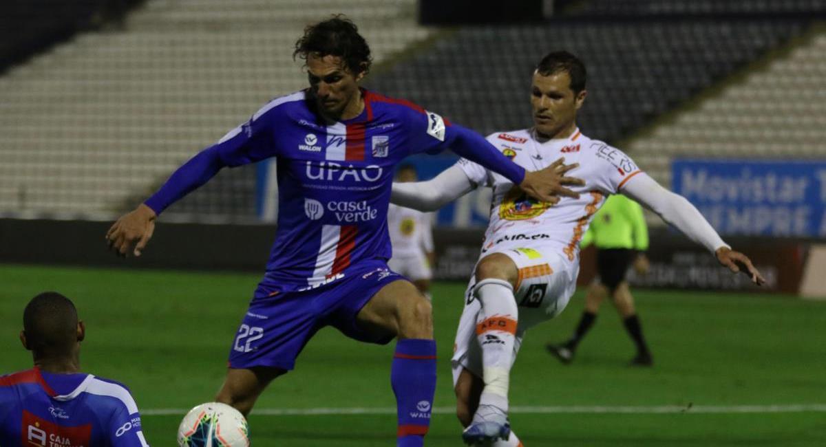 Ayacucho FC enfrenta a Carlos Mannucci. Foto: Prensa FPF