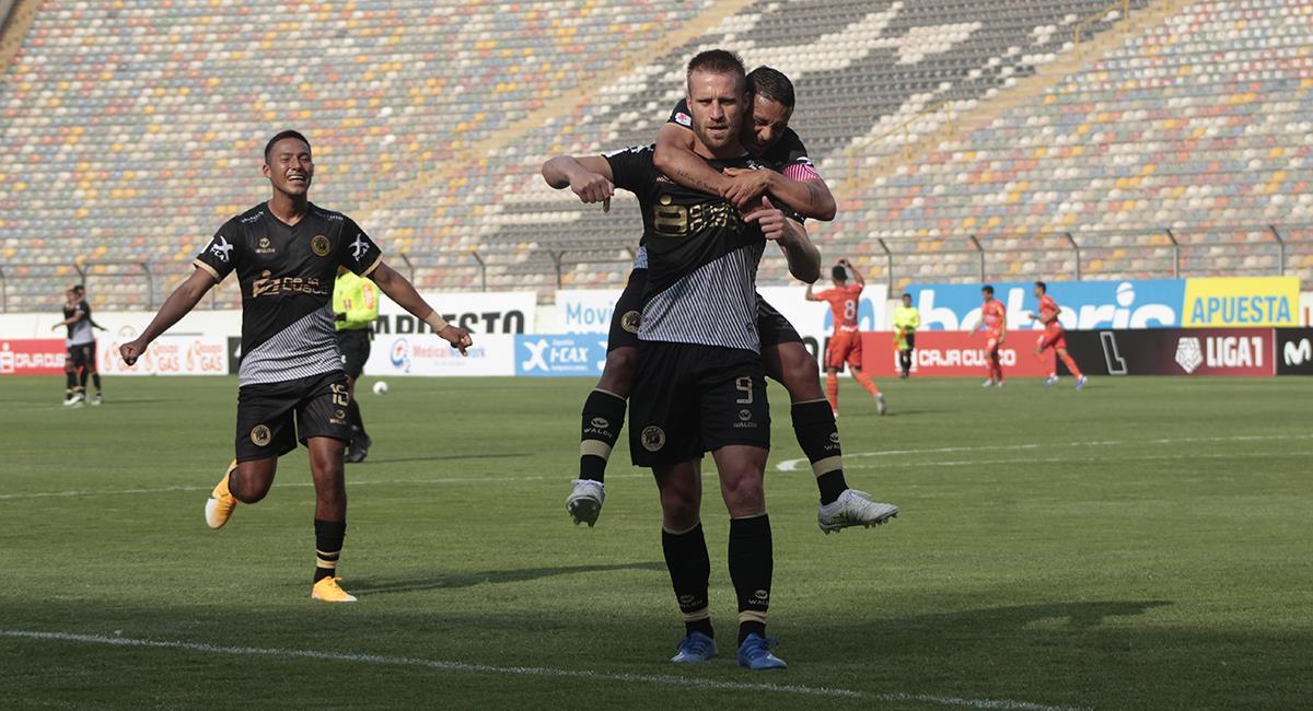 Danilo Carando marcó 14 goles esta temporada con Cusco FC. Foto: Prensa FPF