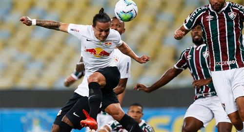 Sin Fernando Pacheco, Fluminense igualó con Bragantino por la jornada 28 del Brasileirao