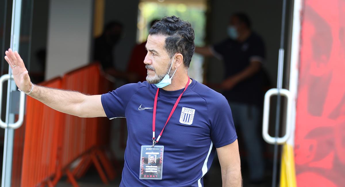 Daniel Ahmed no continuará más en tienda aliancista. Foto: Prensa FPF