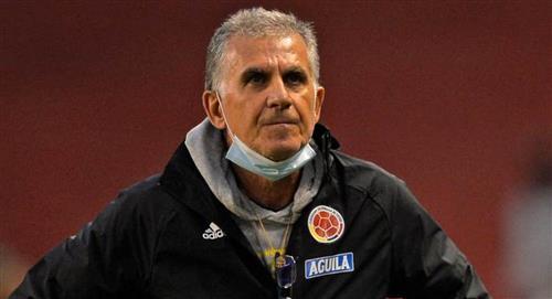 Carlos Queiroz fue destituido como DT de la Selección de Colombia tras malos resultados en Eliminatorias