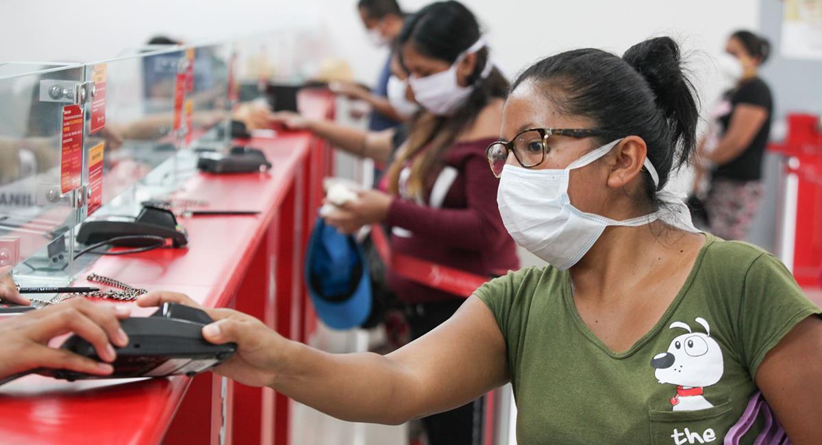 Bono a trabajadores será para reactivación económica. Foto: Andina