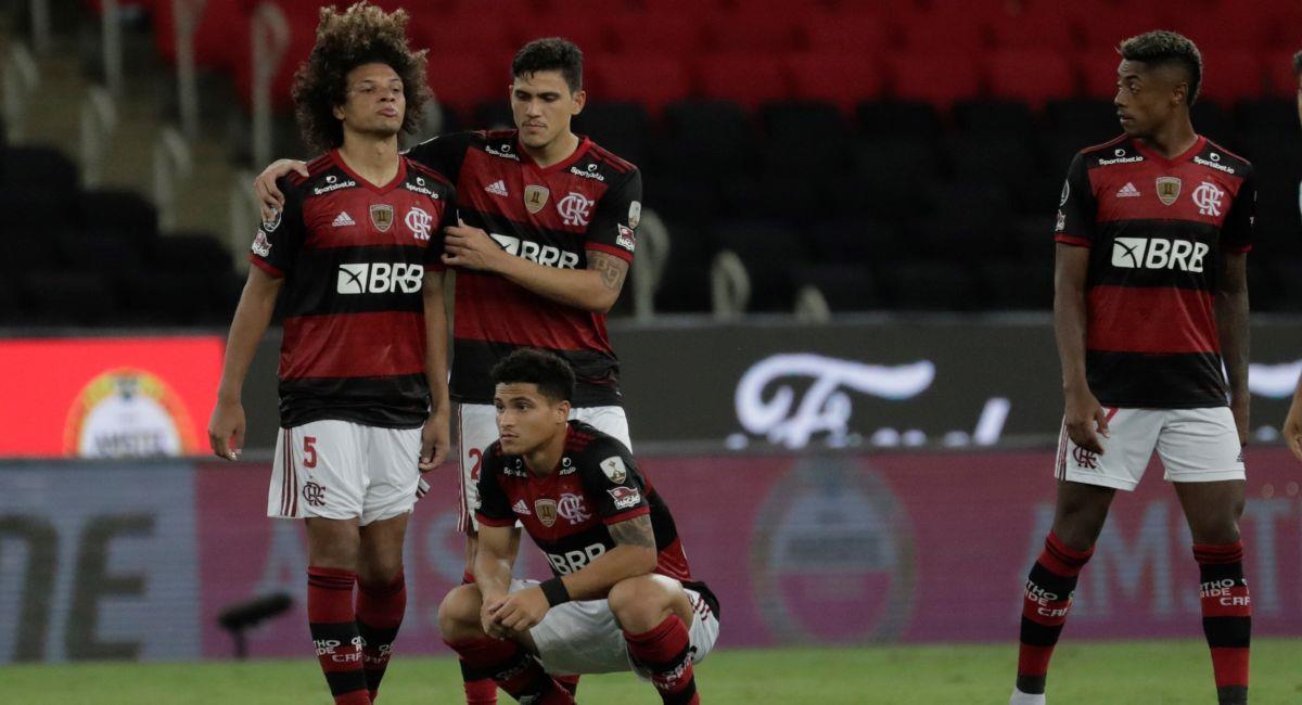 Flamengo le dio adiós a la Copa Libertadores. Foto: EFE