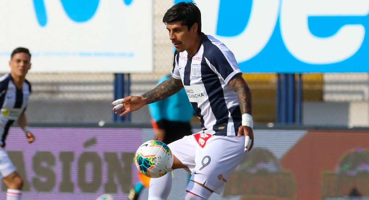Patricio Rubio marcó 7 goles con Alianza Lima este 2020. Foto: Prensa FPF