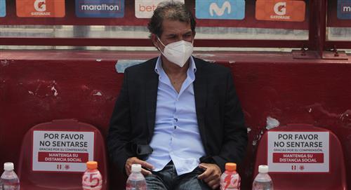 Franco Navarro y sus primeras palabras tras convertirse en técnico de Deportivo Municipal