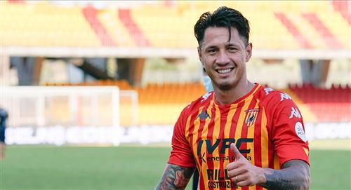 Gianluca Lapadula nuevamente convocado por Benevento para duelo ante Parma por la Serie A