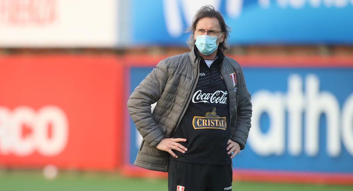 Ricardo Gareca planea gira por Europa. Foto: Twitter Selección Peruana