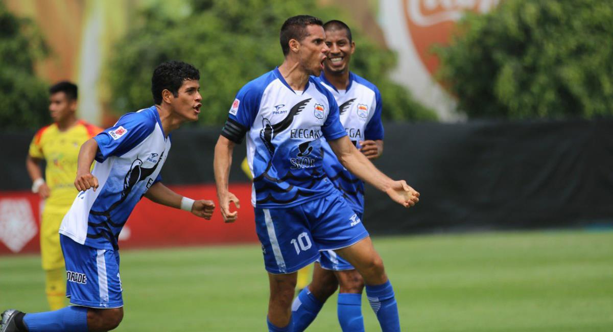 Orejuela marcó uno de los goles. Foto: Prensa FPF