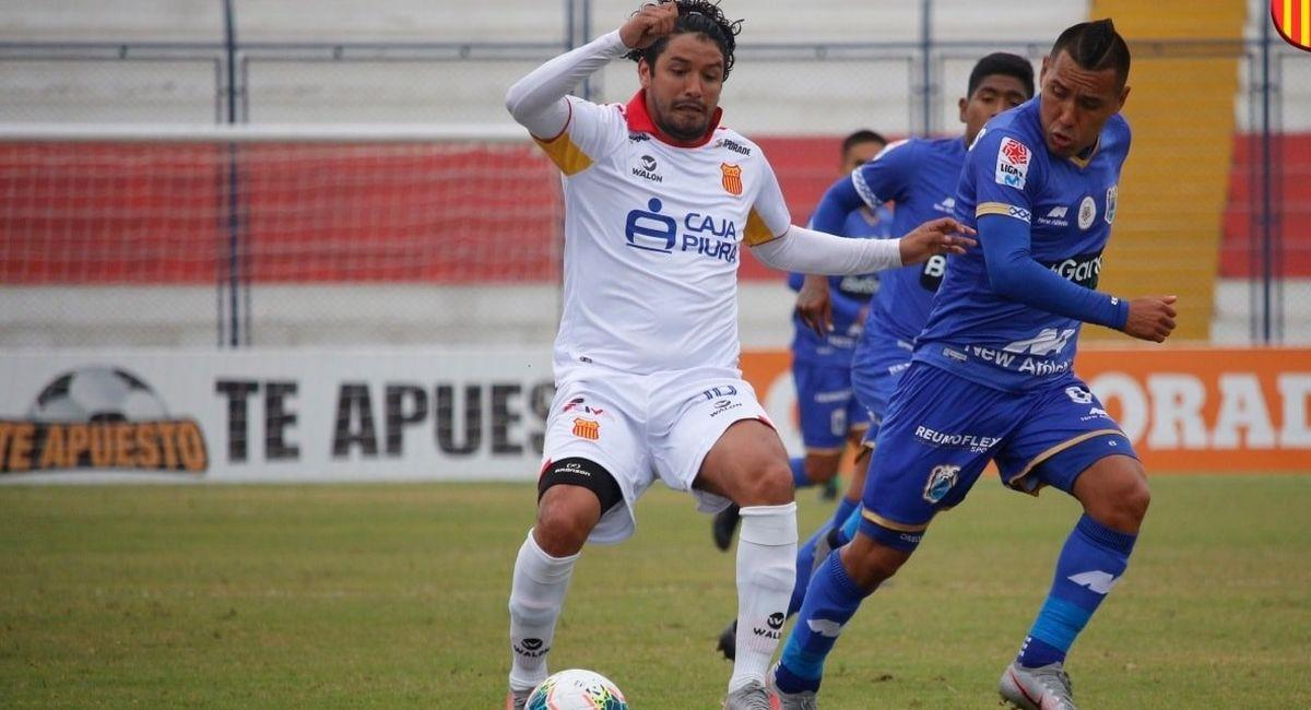 Reimond Manco con la casaquilla del Atlético Grau. Foto: Facebook Club Atlético Grau