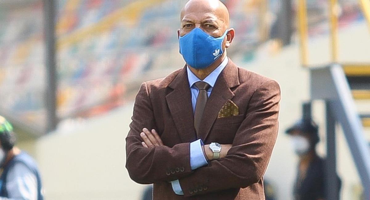 Roberto Mosquera quedó contento con el pase a la final. Foto: Twitter Difusión