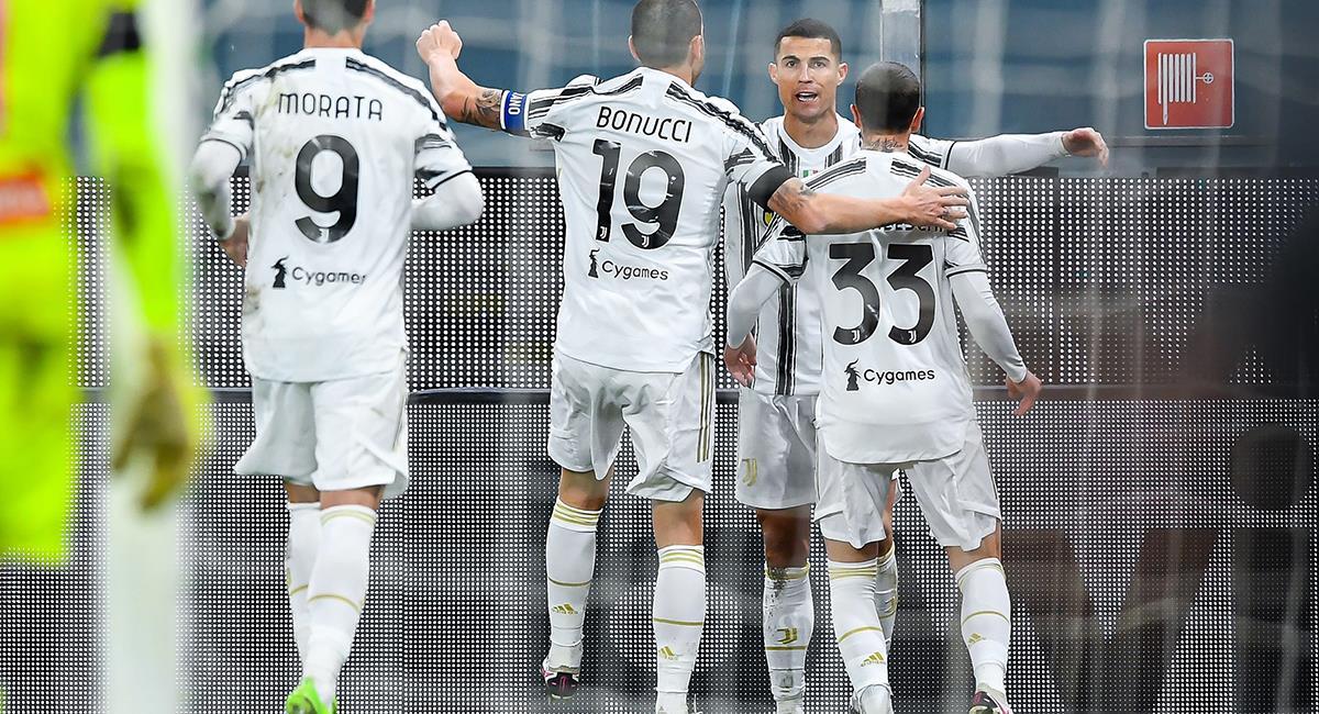 Cristiano Ronaldo llegó a los 100 partidos con Juventus. Foto: EFE